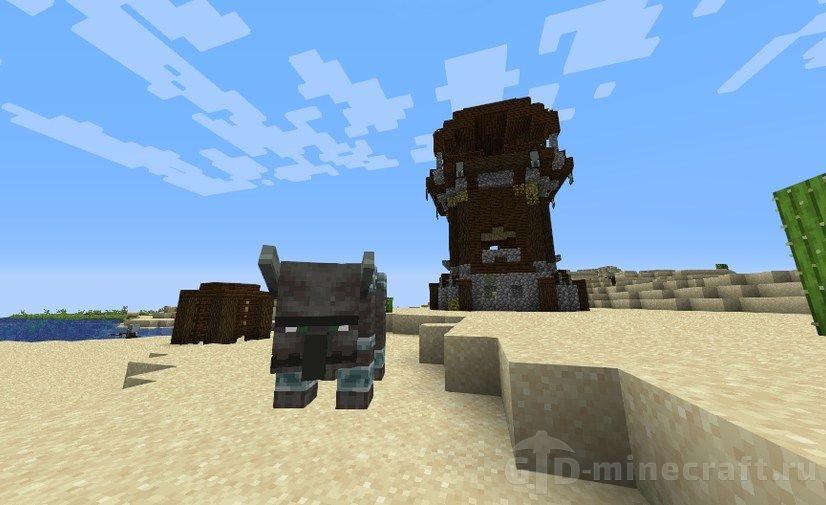 Saddle drop in Minecraft