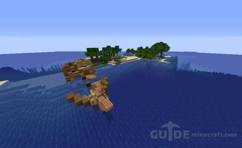 Shipwreck On The Island Seed For Minecraft 1 16 1 15 2 1 14 4