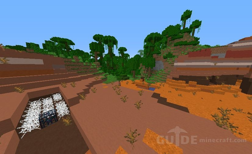All Biomes And Structures Seed For Minecraft 1 16 1 1 15 2 1 14 4
